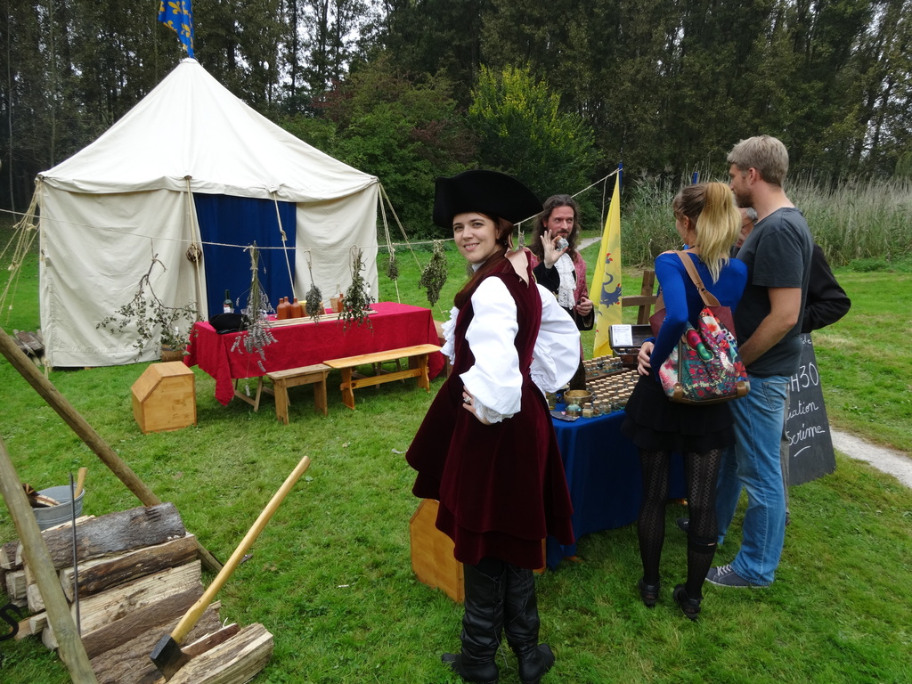 A brûle-pourpoint : camp 18ème siècle
